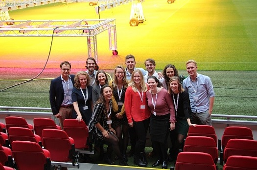 Annual meeting 2019 Touch the grass in the Johan Cruijff Arena